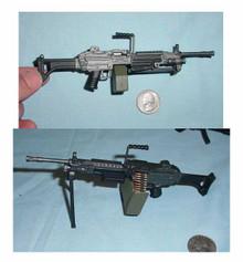 Miniature 1/6 Scale M249 SAW Automatic Machine Gun