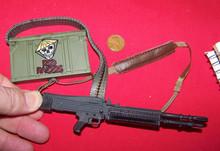 Miniature 1/6th Scale M-60 Nam Cut Down Stock w/200 Round