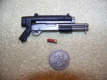 Miniature 1/6th Scale Stand Alone Shotgun w/shell