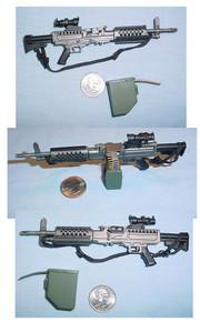 Miniature 1/6th Scale Stoner 86 Machine Gun