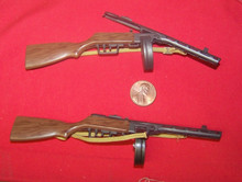 Miniature 1/6th Scale WWII Russian PPSH 41 Machine Gun