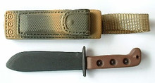1/6th Scale MOD Survival Knife & Camouflage Sheath