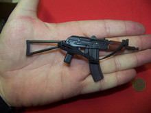 1/6th Scale Minature AKS-74U Krinkov Rifle