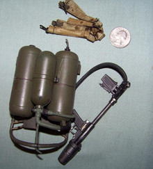Miniature 1/6 Scale M2-2 Flamethrower