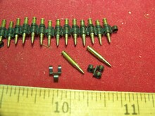 Miniature 1/6th Scale German Machine Gun Ammo Links MG34 42