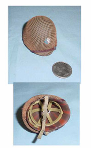 Miniature 1/6th Scale WWII US Netted 29th Helmet