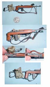 Miniature 1/6 WW2 U.S. Paratrooper M1 Carbine w/folding