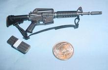 Miniature 1/6 XM 177E2 Assault Rifle w/CARR Stock