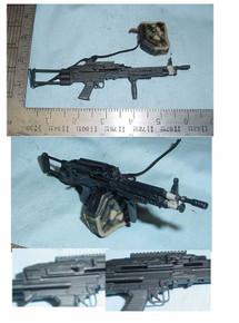 Miniature 1/6 scale M-249 SAW Machine Gun