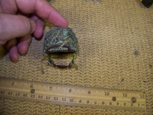Miniature 1/6th Scale WWII US Netted Camo Paratrooper Helmet