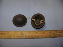 Miniature 1/6th Scale WWII British BEF Helmet #1 Weathered