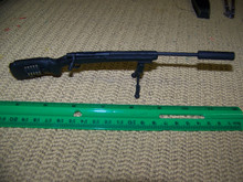 Miniature 1/6th Sniper Rifle w/Silencer
