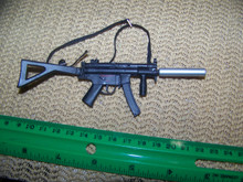 Copy of Miniature 1/6th Scale MP5, with Silencer