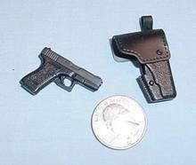 Miniature 1/6 Scale Glock 19 W/holster