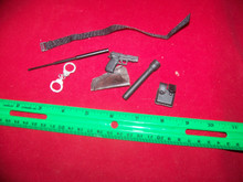 Miniature 1/6th Scale Police Belt, Pistol, Holster & More #3