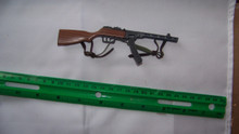 Miniature 1/6th Scale WWII Russian PPSH  Machine Gun #1