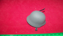 Miniature 1/6th Scale WWII Metal German Helmet #11
