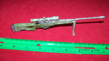 Miniature 1/6 Scale L96A1 Camo Sniper Rifle #1