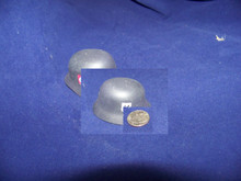 Miniature 1/6th Scale WWII SS Metal German Helmet
