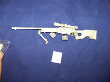 Miniature 1/6 Scale Camo L96A1 Sniper Rifle #1