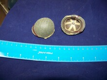 Miniature 1/6th Scale WWII US Netted Helmet