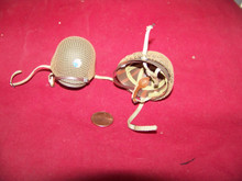 Miniature 1/6th Scale WWII US Netted 29th Paratrooper Helmet