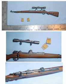 Miniature 1/6 Scale German KAR 98 Sniper Rifle