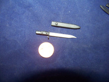 1/6th Scale Miniature Modern British Bayonet and Sheath #1