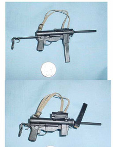 Miniature 1/6th scale US WWII M3 'Grease Gun' Submachine Gun