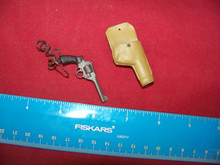 Miniature 1/6 WW2 British Metal Revolver & Holster #2