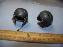 Miniature 1/6th Scale WWII US Tanker Helmet RARE