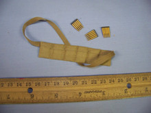 Miniature 1/6th Scale Ammunition Bandolier w/3 x clips