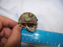 Miniature 1/6th Scale British Modern Camo Paratrooper Helmet #1