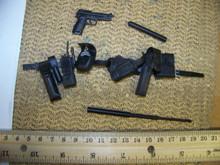 Miniature 1/6th Scale Deluxe Police Belt & Pistol #4