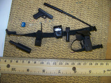 Miniature 1/6th Scale Police Belt Glock, Holster & More #2