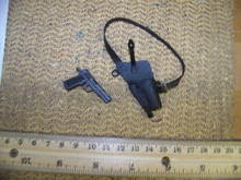 Miniature 1/6th Scale Pistol & Shoulder Holster 31