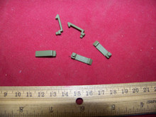 1/6 Scale 21st Century 5 x Green Replacement Clips for Pouches