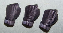 1/6th Scale Gloved Hand Lot