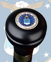U.S. Air Force Flask Walking Cane R3602c