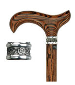 Genuine Bocote Wood Derby Style Handle R80792