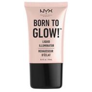 NYX Born To Glow Liquid Illuminator (LI) Lady Moss Beauty