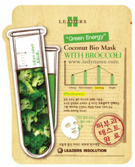 "Leaders Coconut Bio Mask - Broccoli ""Green Energy"""