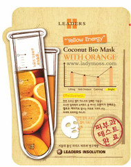 "Leaders Coconut Bio Mask - Orange ""Yellow Energy"""
