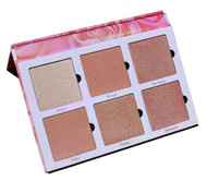 Violet Voss Cosmetics Rose Gold Highlighter Eye Shadow Palette Picture Image Swatch