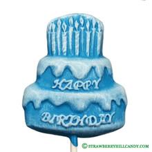 Happy Birthday Cake Lollipop