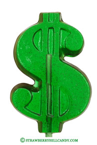 Dollar Sign Lollipop