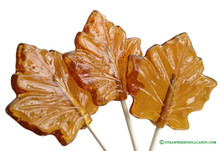 Jumbo Maple Leaf Lollipop