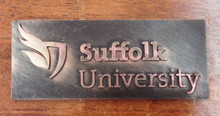 Suffolk University Custom Designed Logo