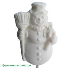 Snow Man Lollipop