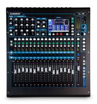 Allen & Heath Qu16C Qu Series Chrome Edition 22-in/12-out Rackmountable Digital Mixer